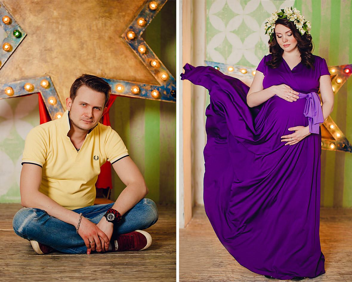 Фотосессии для беременных девушек