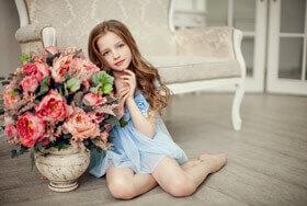 Детская фотосессия — Каролина