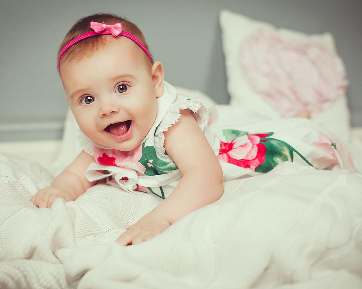 Детская фотосессия 1 годик