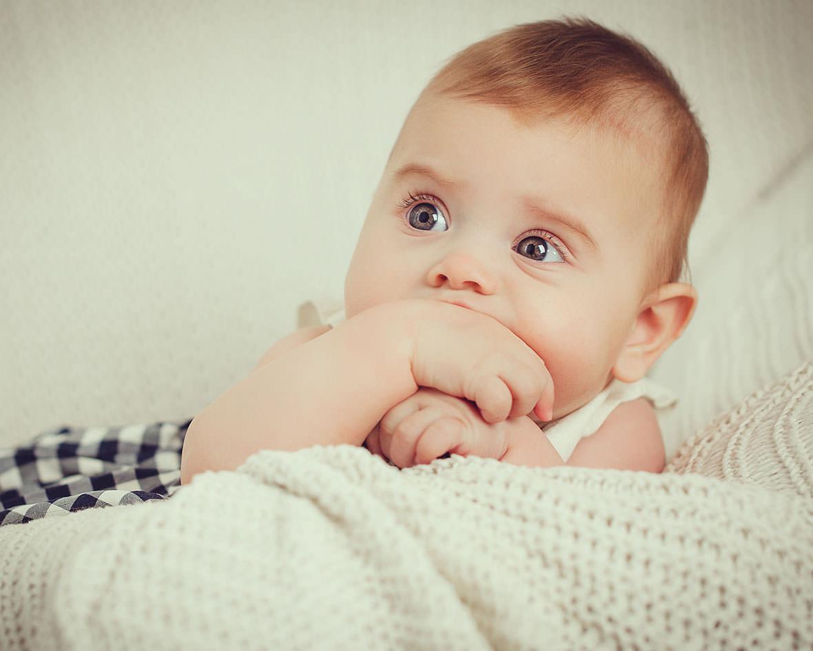 Детская фотосессия малыша
