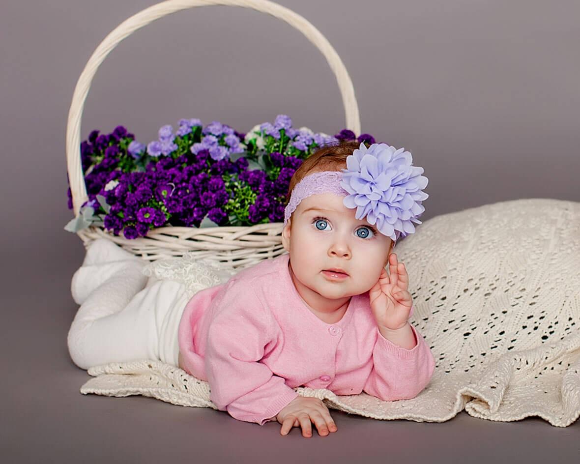 Ребенок на фотосессии