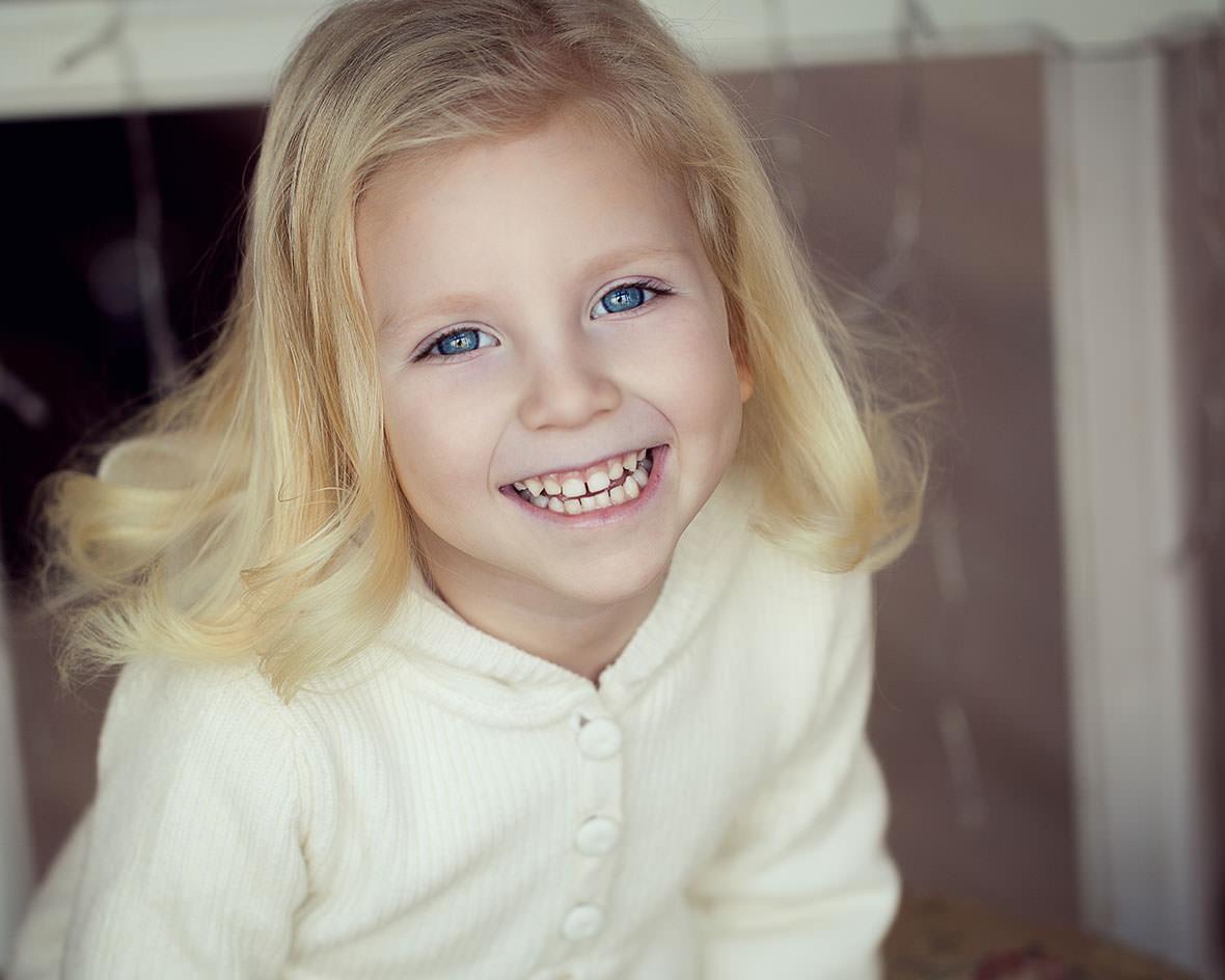 Детская портретная фотосессия