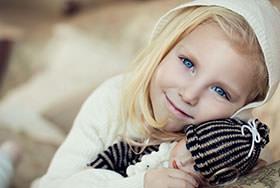Детская фотосессия Полина
