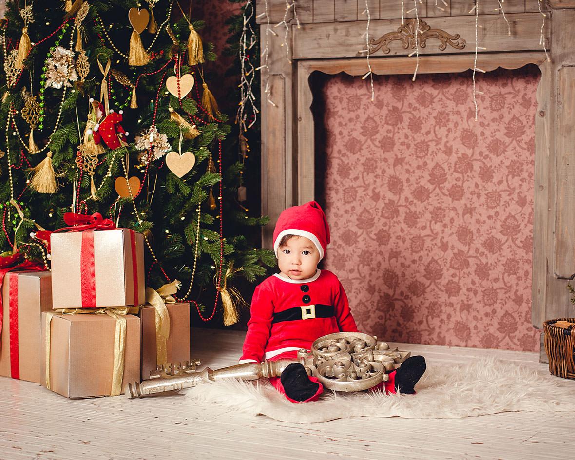 Праздничная детская фотосессия