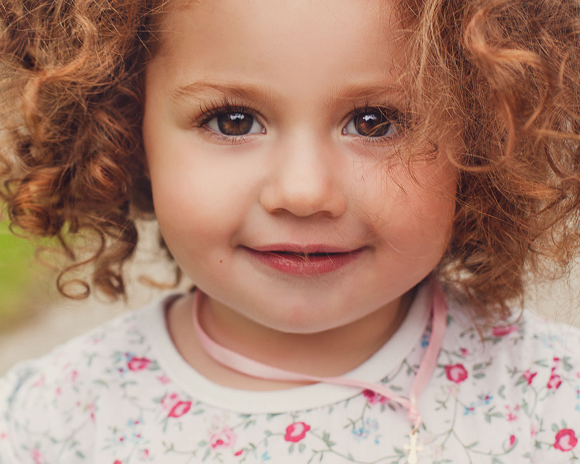 Очаровательная детская фотосессия