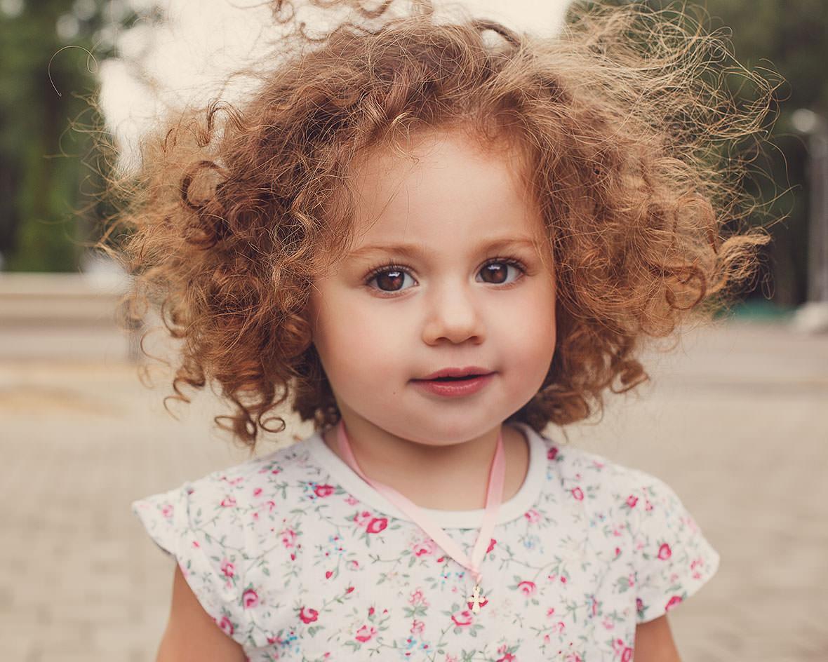 Уличная детская фотосессия