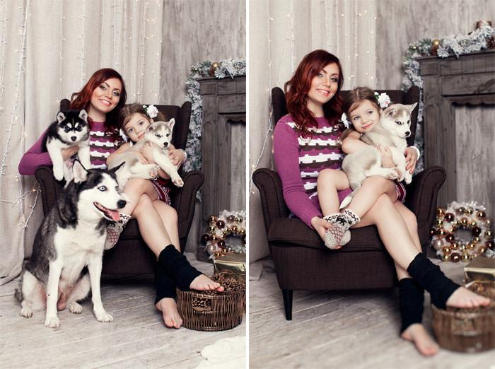 Семейный фотоснимок