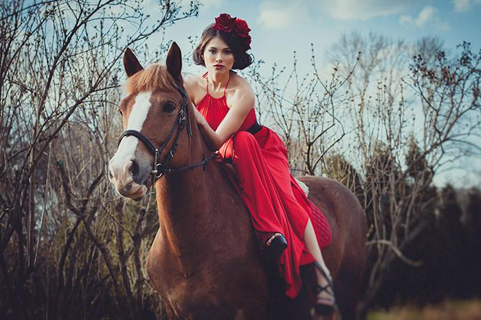 Фото на лошади