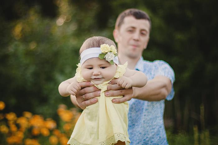 Фото папа с ребенком