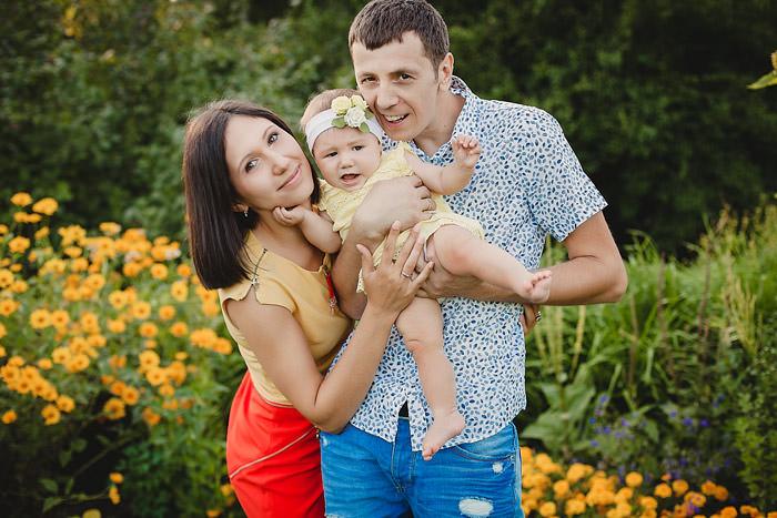 Фотография счастливая семья