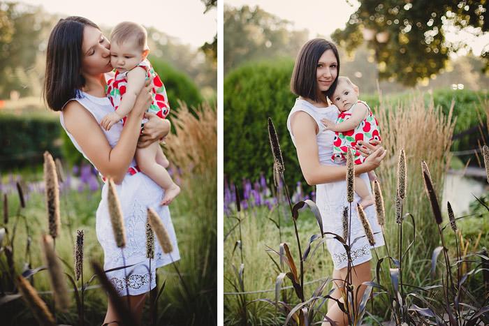 Диптих мама с ребенком