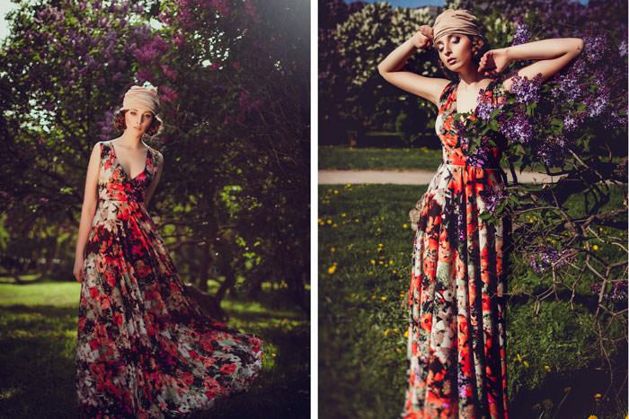 Фотография с цветами