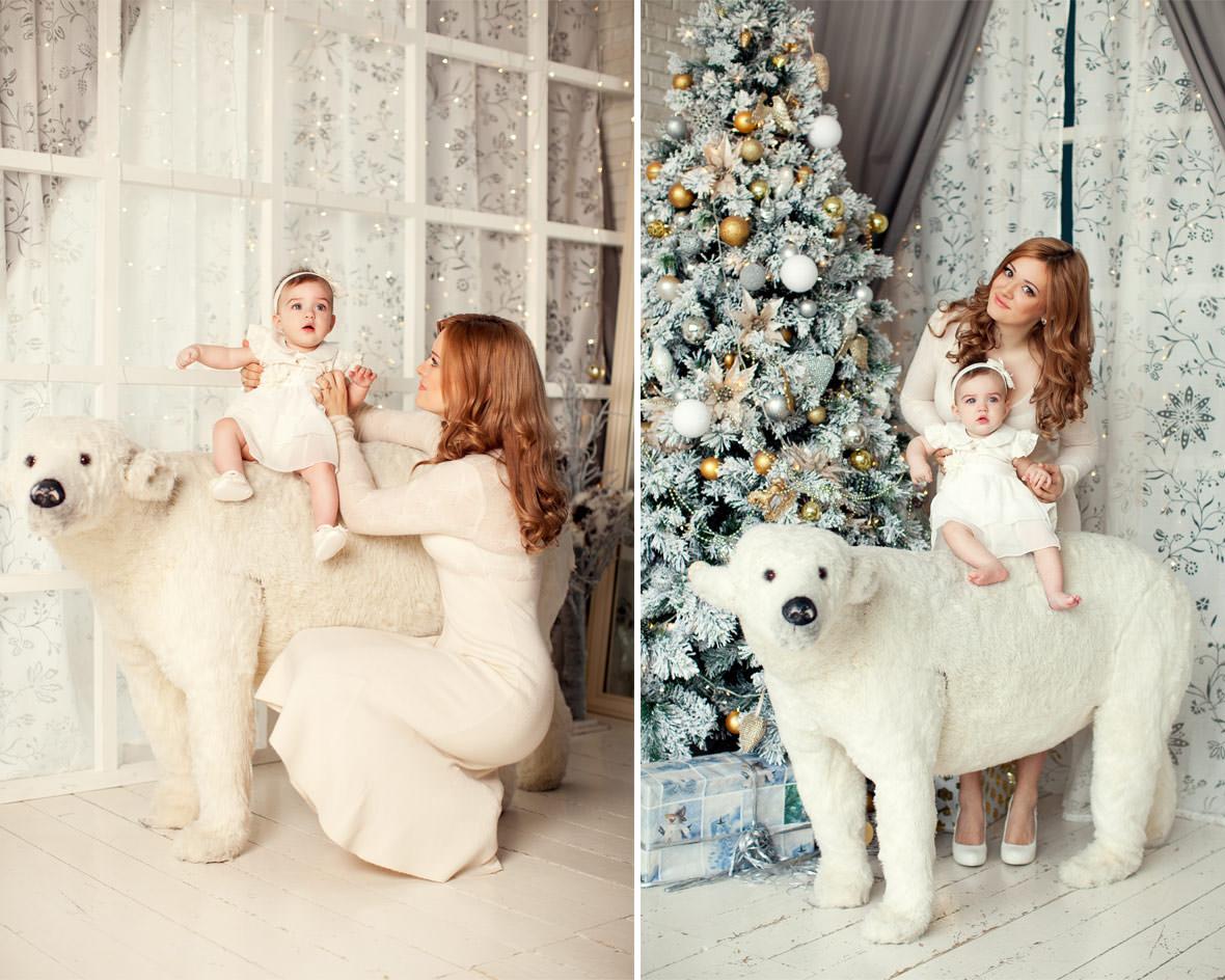 Фотосессия мама и малыш