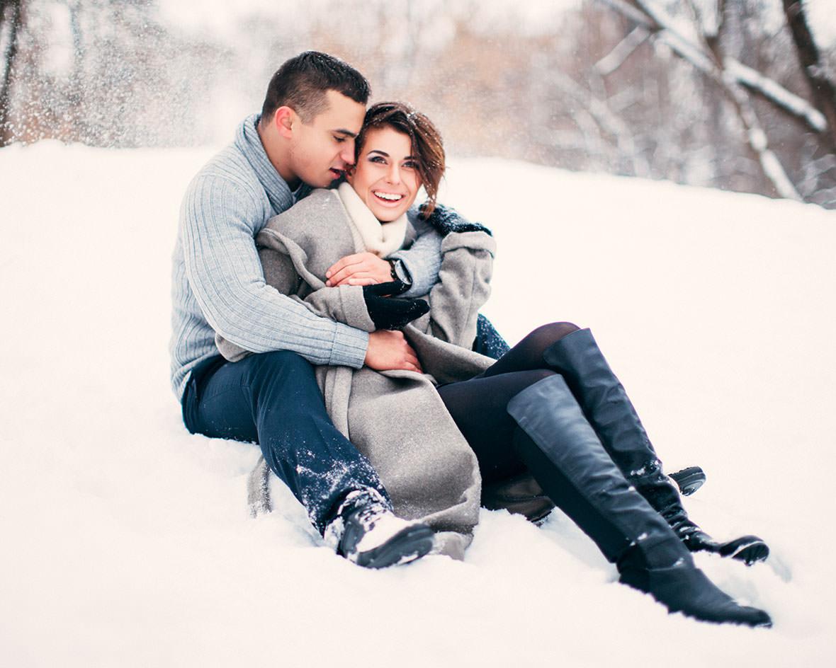 Lovestory зимой