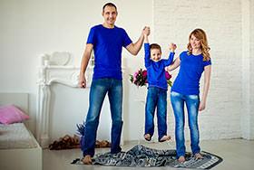 Семейная фотосессия Оля и Вова