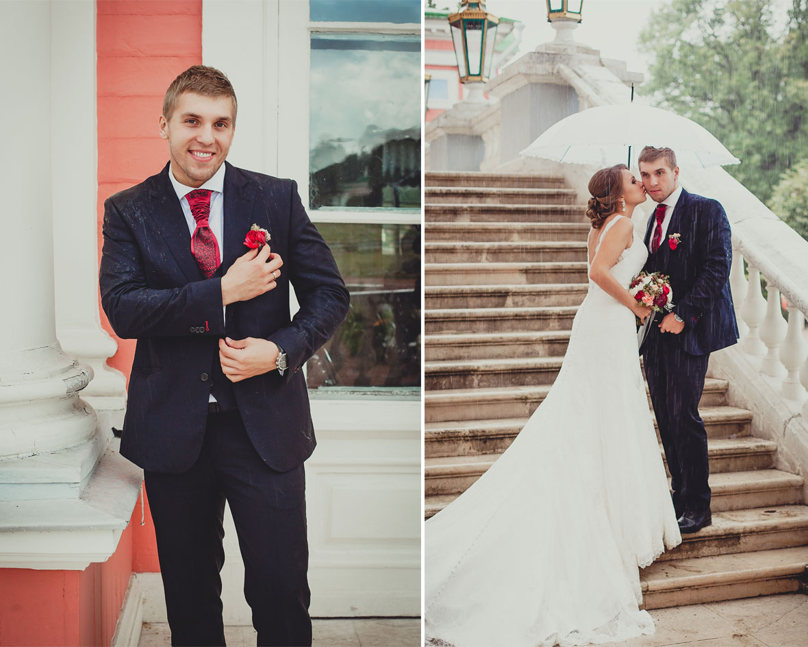 Свадебный день в Кусково