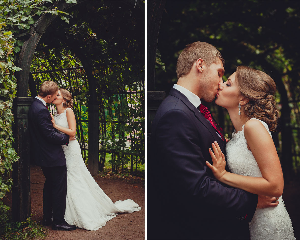Свадьба в усадьбе Кусково