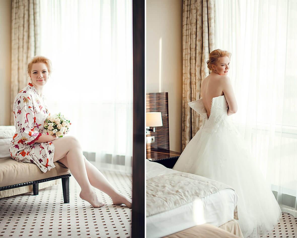 Сборы красивой невесты