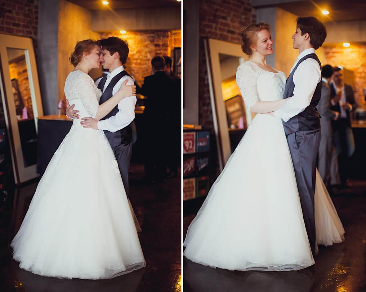 Фото свадьбы в студии