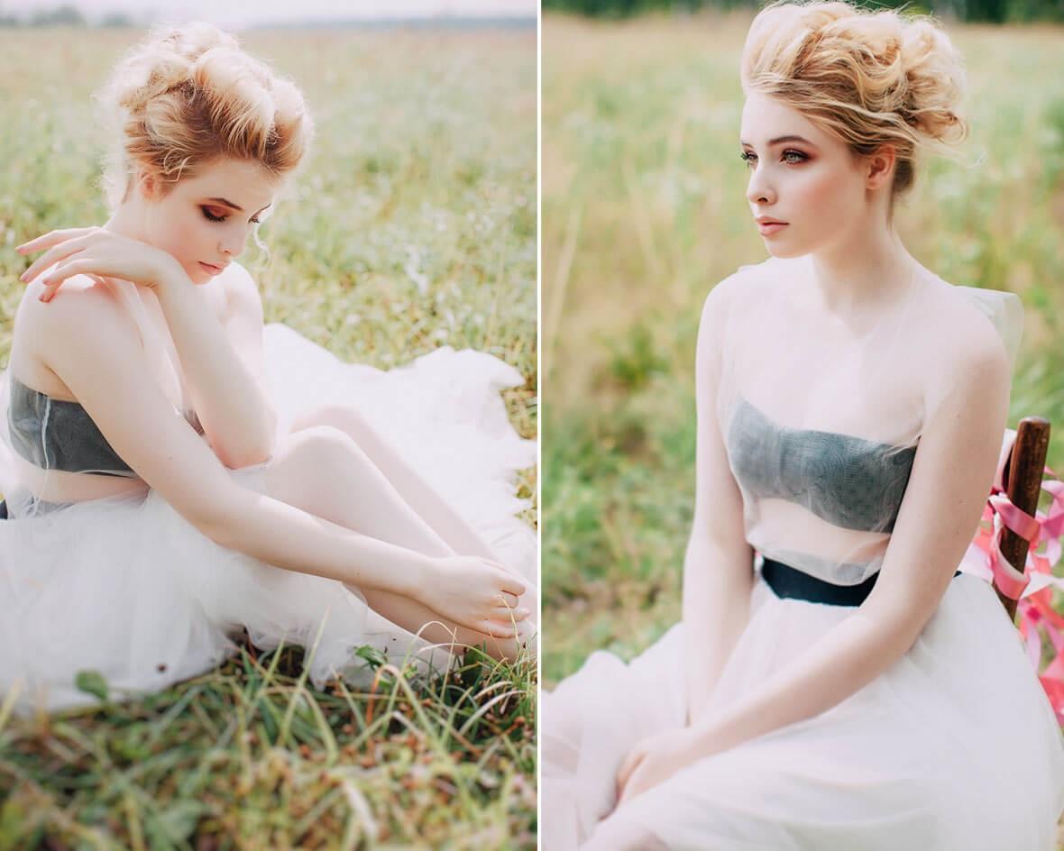 Невеста на поле