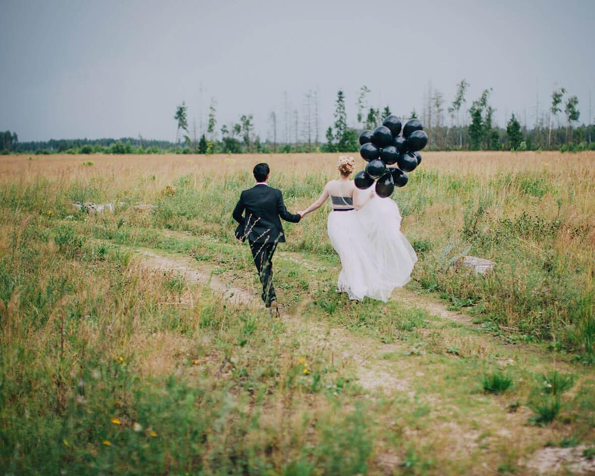 Жених убегает с невестой