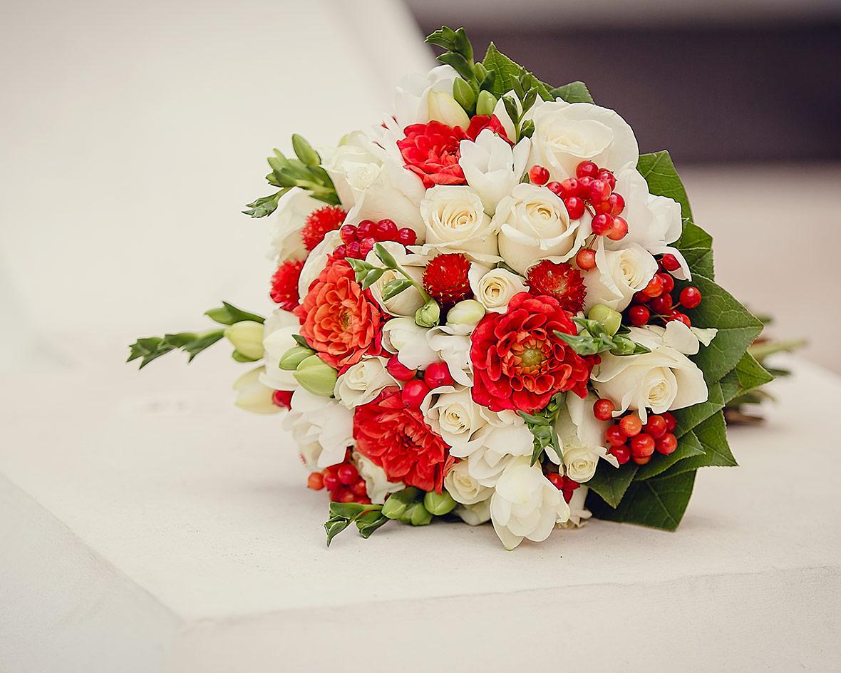 Фото свадебного букета