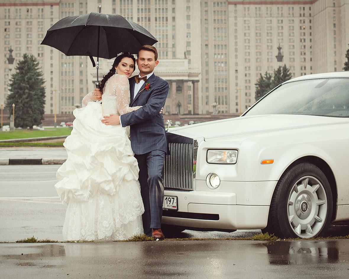 Свадебная фотосессия МГУ