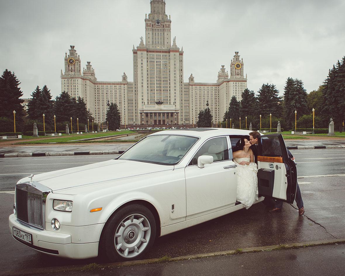Свадебное фото МГУ