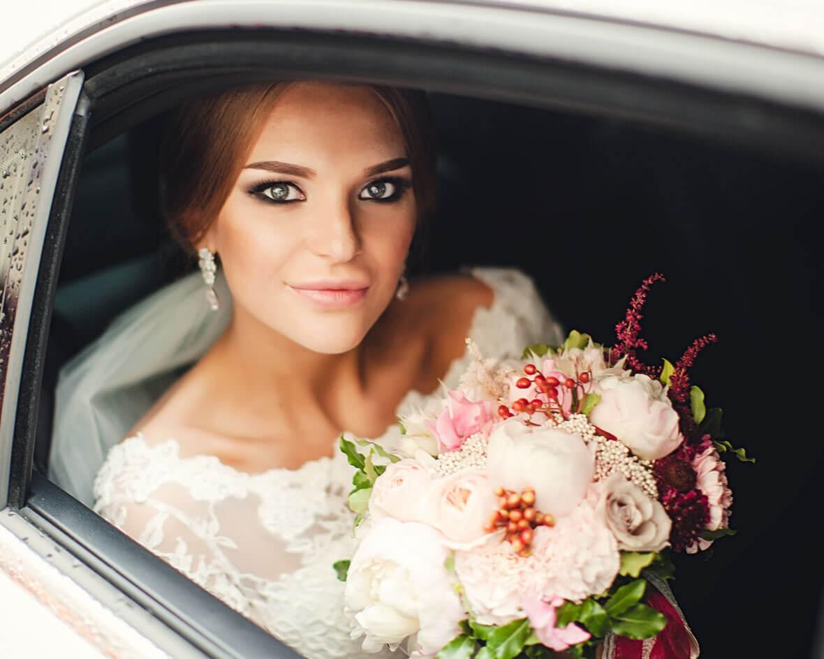 Невеста в лимузине