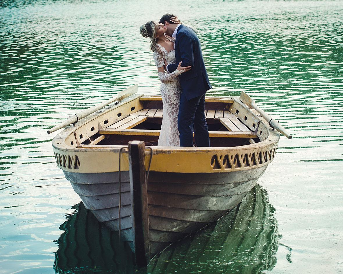 Фото в лодке