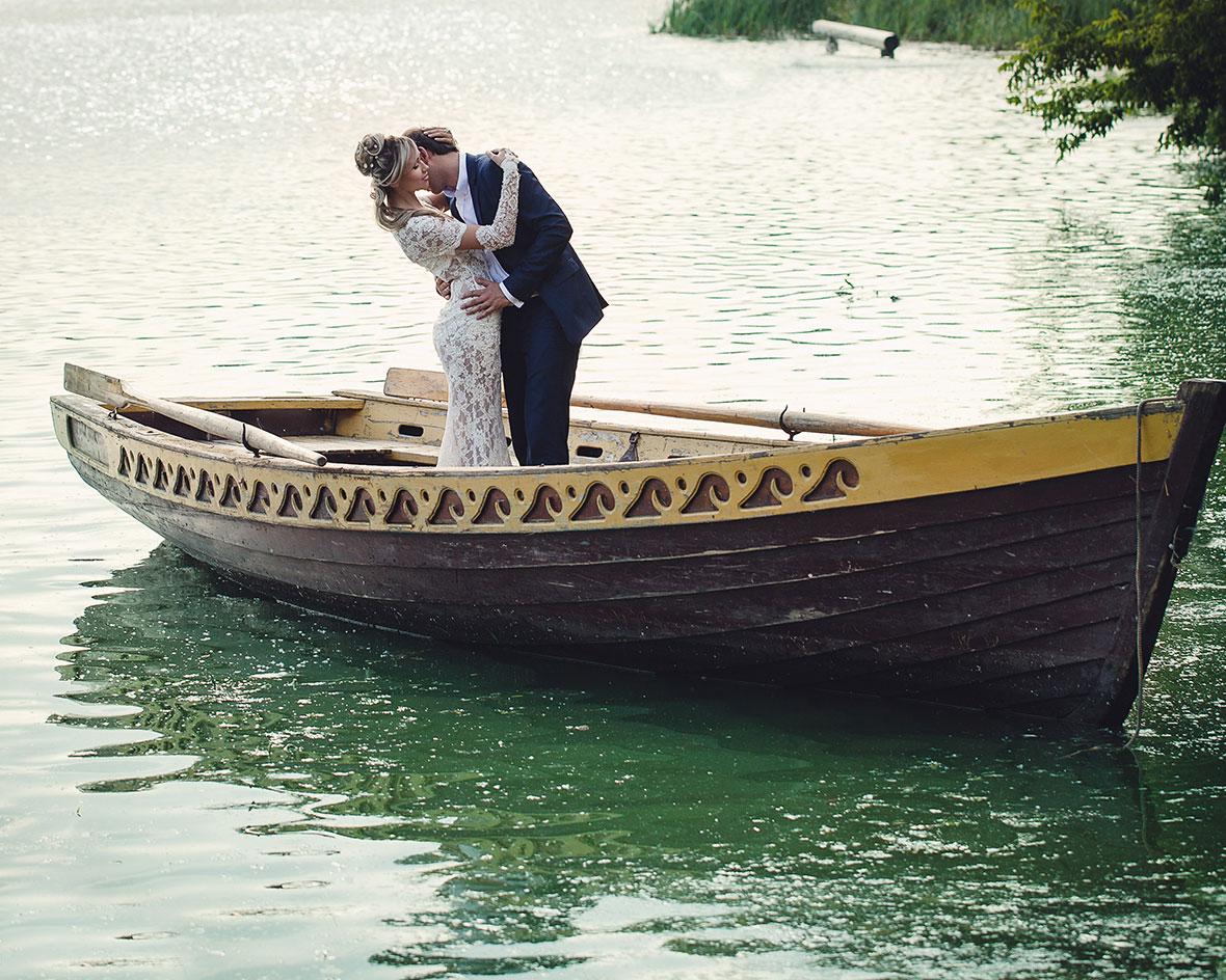 Интересное свадебное фото
