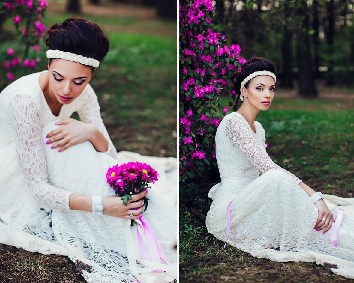 Свадебная фотосессия невесты