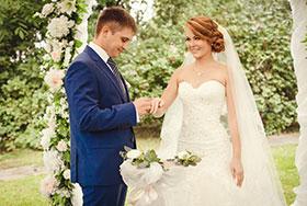 Свадебное фото Лера и Леша