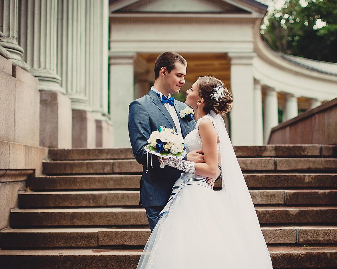 Свадебная фотосессия в Архангельском Каприз