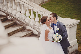 Свадебное фото Маша и Саша