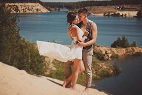 Свадебное фото Миша и Настя