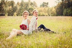 Свадебное фото Таня и Дима