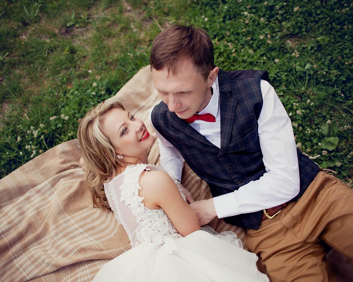 Свадьба на траве