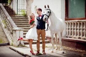 Свадебное фото Юлия и Максим