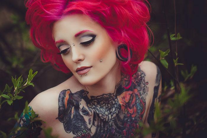Татуировки на теле